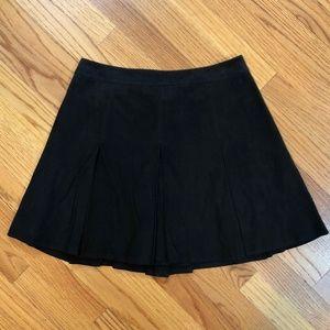 alice + olivia  lamb leather pleated skirt, NWT's.